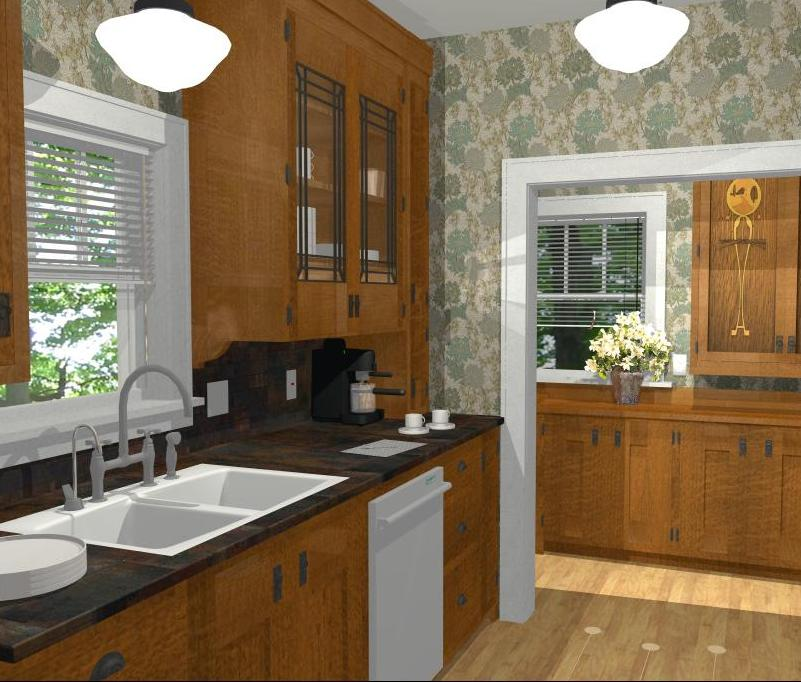 Kitchen Remodeling in Lincoln, Nebraska: Pantry Design Rules - Dual Pantry Kitchen.